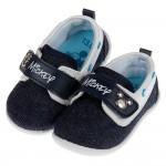 (13~16公分)Disney迪士尼米奇牛仔藍帆布寶寶休閒鞋