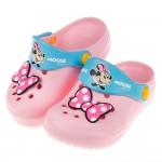 (15~20公分)Disney迪士尼米妮復古蝴蝶結粉色兒童布...