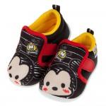 (13~15公分)Disney迪士尼塗鴉Q米奇黑色寶寶休閒鞋