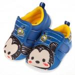 (13~15公分)Disney迪士尼塗鴉Q米奇藍色寶寶休閒鞋