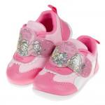 (13~15公分)Disney公主系列桃粉色寶寶休閒鞋