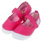 (15~21公分)台灣製桃紅色上學專用兒童室內鞋
