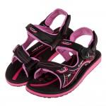 (23~26公分)GP黑桃色高彈力舒適橡膠成人運動涼鞋I#HE3NH*XXG
