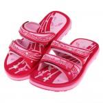 (19~23公分)GP音符DoReMi桃紅橡膠兒童雙帶拖鞋I#BN3NH*XXG