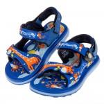 (15.5~20.5公分)GP長頸鹿童趣磁扣式寶藍色橡膠兒童...