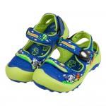 (17~21公分)GP牛牛藍綠色兒童護趾涼鞋I#HD3NB*XBX