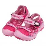 (17~21公分)GP牛牛桃紅色兒童護趾涼鞋I#HD3NH*...