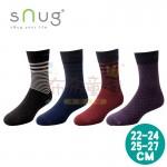 sNug除臭襪-科技紳士襪-條紋黑-條紋藍-條紋紅-英格紫(22~27公分)