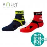 sNug除臭襪-運動繃帶襪-綠藍-紅黑(20~29公分)