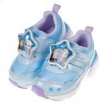 (15~19公分)Moonstar冰雪奇緣二代LED電燈藍色兒童機能運動鞋P#KN3LB*XGX