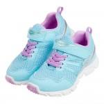 (19~24公分)Moonstar日本點點淺藍亮皮3E兒童機能運動鞋P#KU3NB*XXG