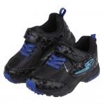 (16~19公分)Moonstar日本黑色閃耀競速兒童電燈機能運動鞋P#KU3ND*XBX
