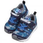 (15~21公分)日本TSUKIHOSHI迷彩海軍藍色兒童機能運動鞋P#KU4NA*XBB