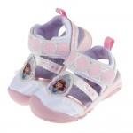 Moonstar蘇菲亞小公主白色護趾兒童機能涼鞋(14~19公分)