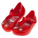 (12.5~17.5公分)ZAXY童趣腳踏車紅色寶寶公主涼鞋...