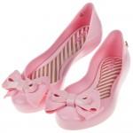 (17~22公分)ZAXY夢幻典雅蝴蝶結粉色兒童香香鞋