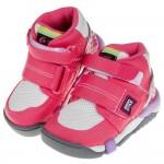 (15~21公分)Moonstar日本Carrot粉色兒童機能矯健鞋(醫師推薦矯正鞋)