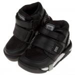 (15~21公分)Moonstar日本Carrot黑色兒童機能矯健鞋(醫師推薦矯正鞋)