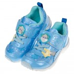 (16~19公分)Moonstar冰雪奇緣聯名款藍色艾莎兒童...