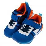 (15~21公分)Moonstar日本Hi系列藍色兒童機能運動鞋