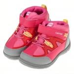 (15~21公分)Moonstar日本粉色兒童防水保暖短靴機...