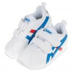 (16~22公分)asics亞瑟士經典款CORSAIR白色兒童機能運動鞋I#KU3NM*XMM