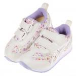 (16~20公分)asics亞瑟士紫色小碎花兒童機能運動鞋I#KN3NF*XGX