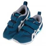 (16~22公分)asics亞瑟士土耳其藍兒童機能運動鞋I#...