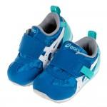 (13~15.5公分)asics亞瑟士運動塗鴉藍色寶寶機能學步鞋V#MU3NB*BXX