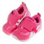 (13~15.5公分)asics亞瑟士運動塗鴉粉色寶寶機能學...