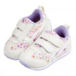 (13~15.5公分)asics亞瑟士IDAHO寬楦碎花紫寶寶機能學步鞋I#MU4NF*GXX
