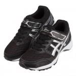 (19~24公分)asics亞瑟士LAZERBEAM黑銀色兒童機能運動鞋C#KN3NQ*XXM