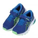 (17.5~22公分)asics亞瑟士GT1000經典寶藍兒童機能運動鞋C#KU3NB*XBB