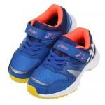 (16~22公分)asics亞瑟士LAZERBEAM寶藍黃色兒童機能運動鞋V#KU4NB*XBB