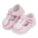 (13~15.5公分)Miffy米飛兔粉色可愛公主寶寶鞋H#...