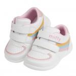 (13~15.5公分)Miffy米飛兔粉白色運動風寶寶學步鞋H#MN4NG*GXX