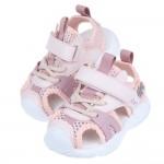 (14~16.5公分)粉紅色兒童透氣運動護趾涼鞋P#HD3N...