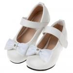 (16~22.5公分)Miffy米飛兔蝴蝶結白色兒童公主鞋