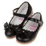 (17~20公分)Miffy米飛兔蝴蝶結黑色花邊蕾絲兒童公主...