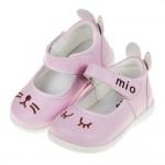 (13~15.5公分)兔兔睡著了粉色寶寶公主鞋H#FN3NG...