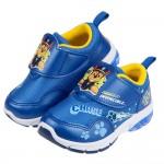 (15~19公分)汪汪隊警長阿奇藍色兒童電燈運動鞋R#KN3...