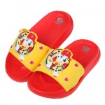 (15~22公分)汪汪隊消防員毛毛黃色紅底兒童輕量拖鞋 R#BE3NK*XBX