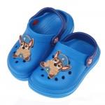 (15~20公分)汪汪隊阿奇警長立體圖樣藍色兒童布希鞋R#G...