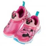 (15~20公分)Disney迪士尼米妮亮彩粉色兒童運動鞋