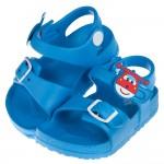 (15~20公分)SuperWings超級飛俠杰特藍色兒童超輕量涼鞋
