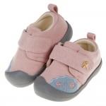 (13~14.5公分)雨傘牌專櫃藕粉色舒適布質寶寶學步鞋P#MU3NG*GXX