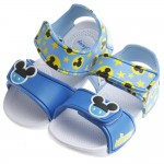 (16~19.5公分) Disney迪士尼米奇藍色超輕量速乾涼鞋