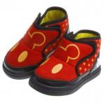 Disney迪士尼經典米奇防護保暖靴(13~16公分)*