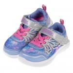 (13~16公分)Skechers亮彩水幻蝴蝶紫色兒童機能運動鞋V#KH3NF*GGX
