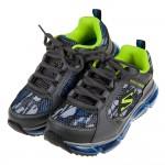 (20~24公分)SKECHERS_AIR迷彩鐵灰兒童氣墊運動鞋P#KN3NJ*XXB